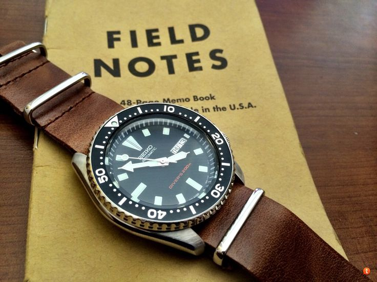 Seiko SKX007 Diver watch