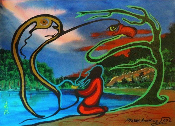 Wind of Life, Moses Amik Beaver