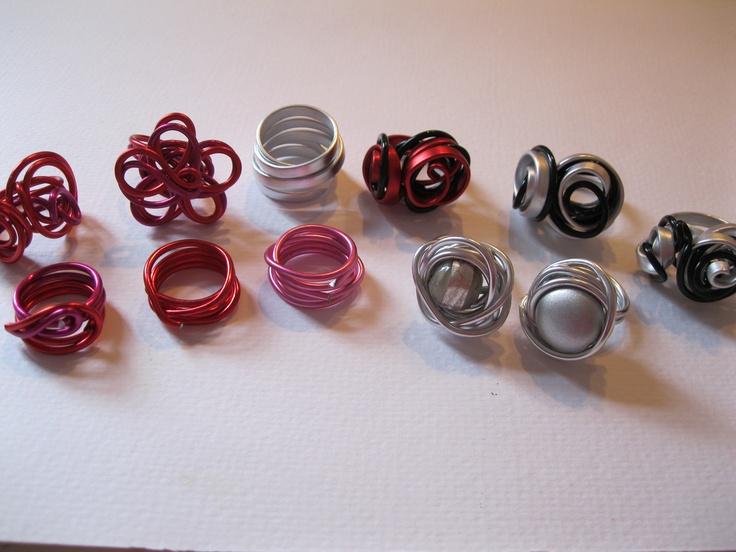 Ringen, supermakkelijk te maken met aluminium spul!