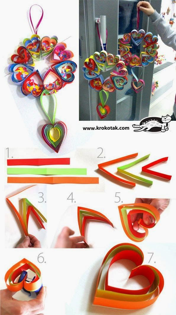 Sempre criança: http://krokotak.com/2014/02/heart-shaped-wreath/