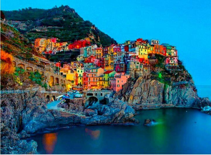 inspiring colourful amalfi