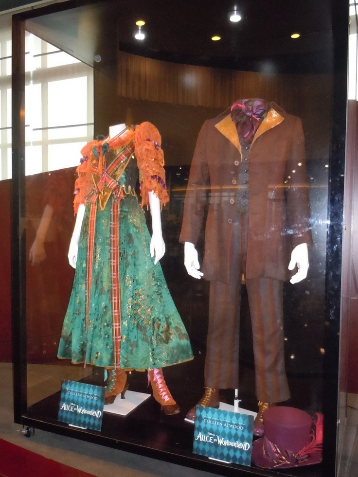 Hatter Clan costumes designed by Colleen Atwood for Alice in Wonderland, 2010
