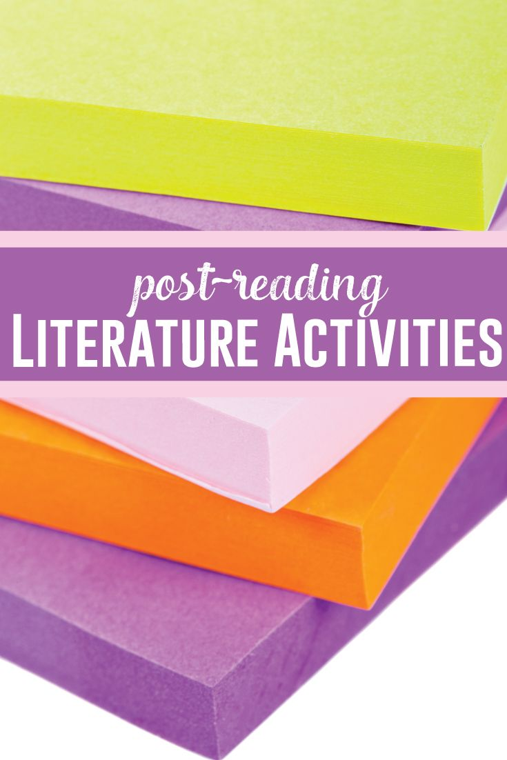 Ready To Brainstorm Activities For Literature Post Reading