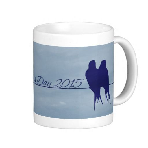 Mothers Day 2015 Bird Silhouette Mug