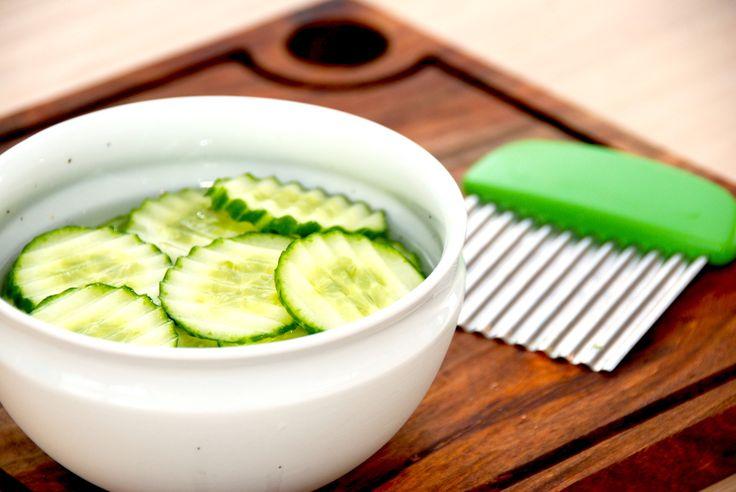 Agurkesalat opskrift: Mormors klassiske agurkesalat