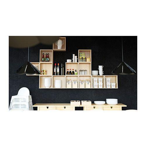 FÖRHÖJA Wandschrank IKEA Kann unter einem Wandschrank oder direkt an der Wand montiert werden.