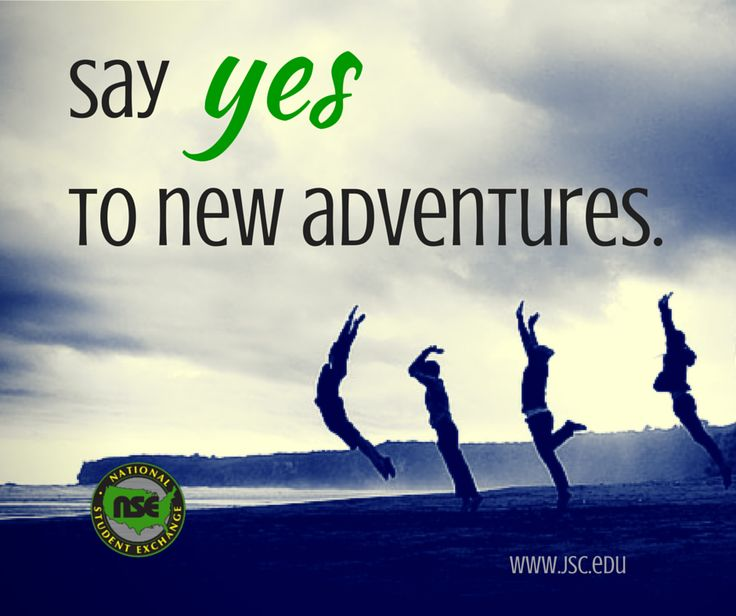 Say YES to new adventures! Study away with National Student Exchange: www.nse.org