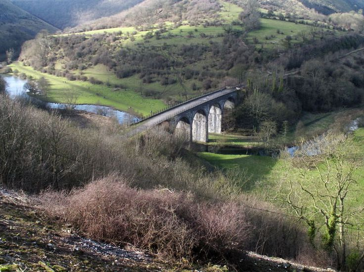 Headstone Viaduct and Monsal Dale from Monsal Head walk
