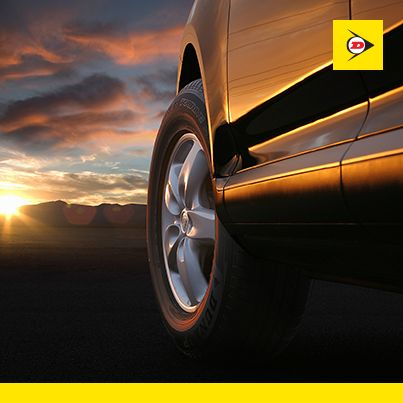 Hitting potholes and kerbs will ruin your alignment. #WheelAlignment #DunlopTyresSA