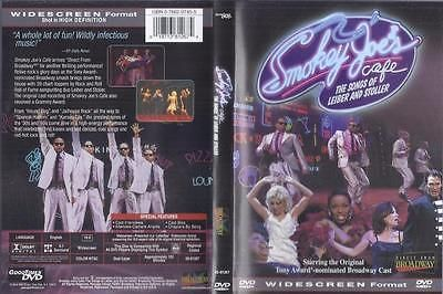 DVD:  SMOKEY JOE'S CAFE THE SONGS OF LEIBER AND STOLLER