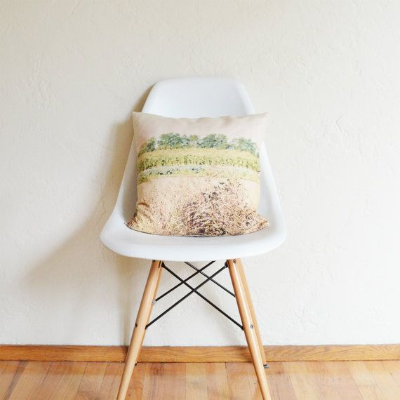 The Field Photography Pillow Cover by Plumed on Etsy, $45.00