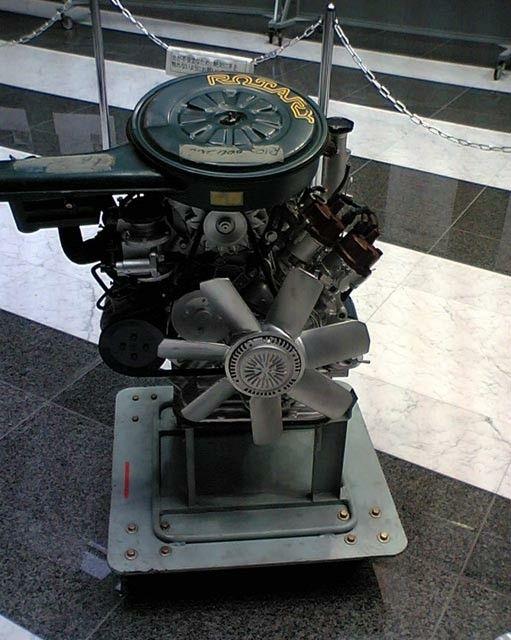 NISSAN Wankel Rotary Engine (Type BB-1)