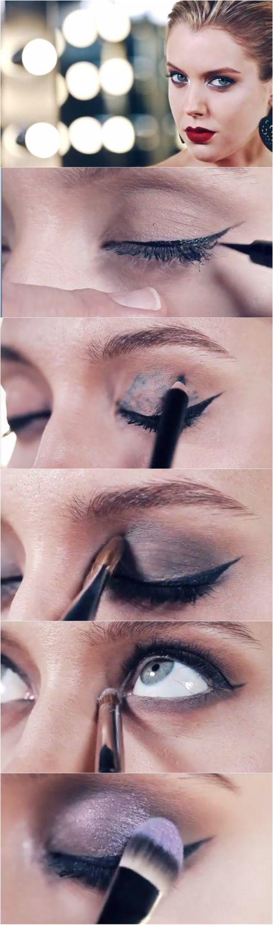 simple evening makeup
