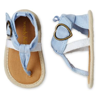 Wendy Bellissimo™ Infant Girls Abbie Thong Sandals  found at @JCPenney