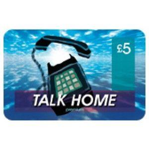 TalkHome £5 International Calling Card