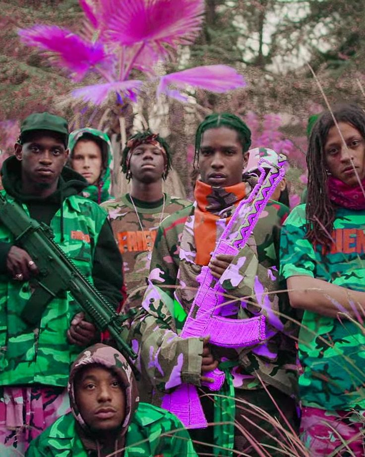 """#hypetrak: @asapmob just released the visual accompaniment to their A$AP Yams tribute track """"Yamborghini High."""" Click the link in our bio to watch now. by hypebeast"""