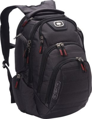 OGIO Renegade RSS 17 Laptop Backpack Black Pindot - via eBags.com!