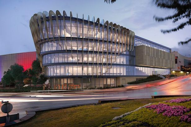 An artist's impression of the new £27m Shorehead Building on the University of Huddersfield campus