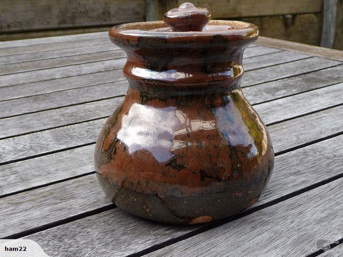 Andrew Van der Putten - lidded pot