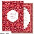 Persian Poppy Wedding Invitation - elegant India Mehndi Farsi ethnic at Invitations By David's Bridal