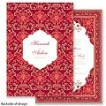 Persian Poppy Wedding Invitation - elegant India Mehndi Farsi ethnic at Invitations By David's Bridal