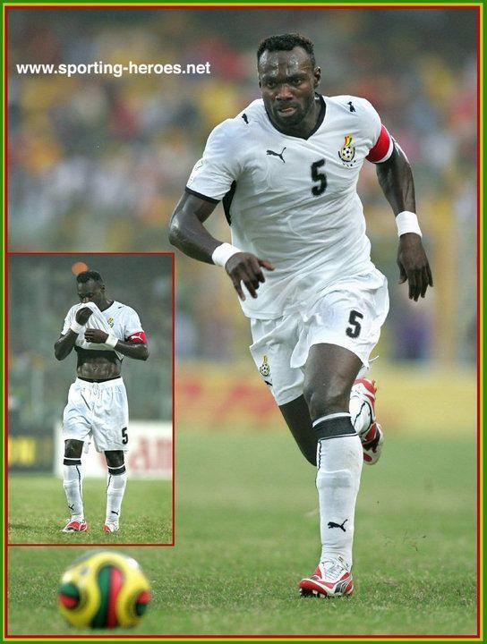 John Mensah - Ghana - African Cup of Nations 2008.