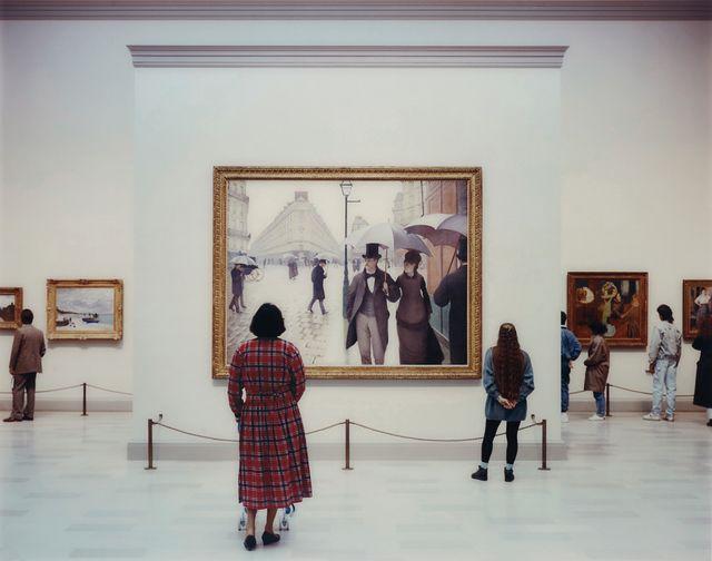 THOMAS STRUTH Art Institute of Chicago II, Chicago, 1990