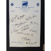Yorkshire County Cricket Club Autographs