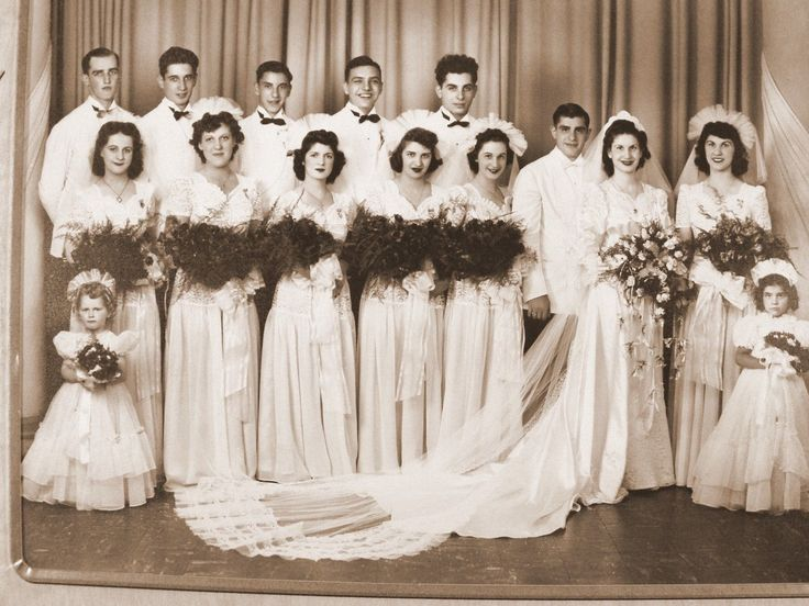 1940 Wedding Ideas: 1940's Wedding Party