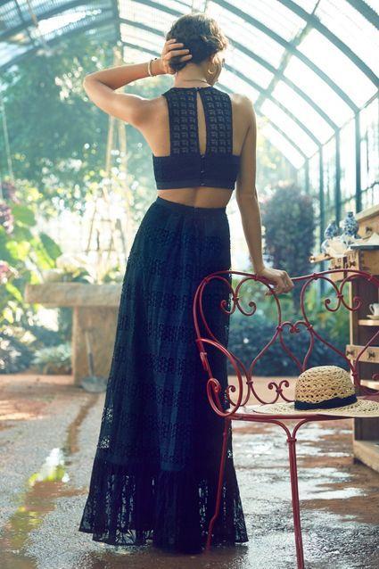 Selona Lace Petite Dress - anthropologie.com