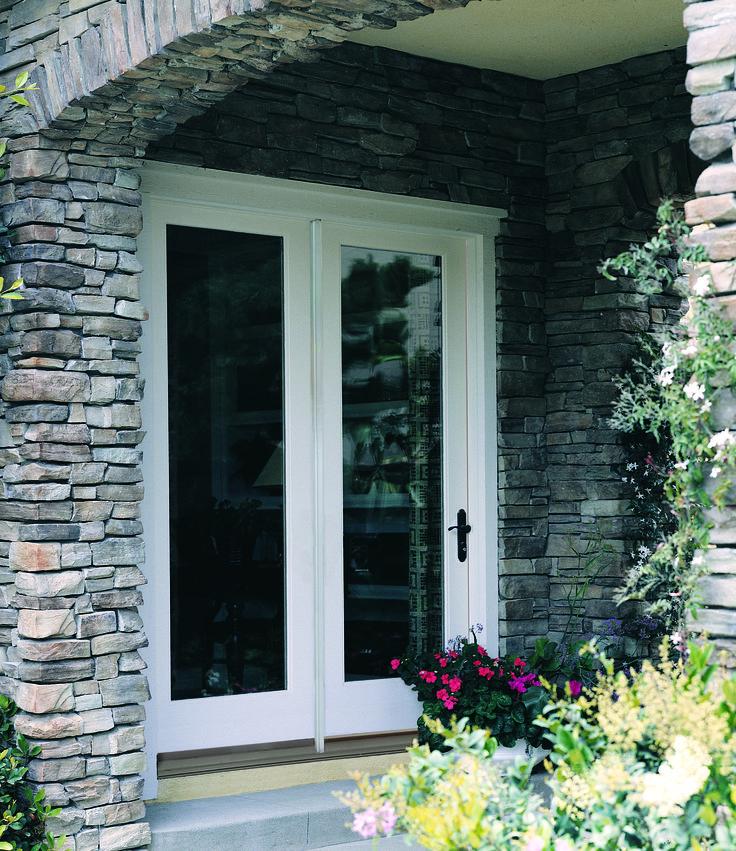 Window World Hinged Patio Doors Fiber Classic
