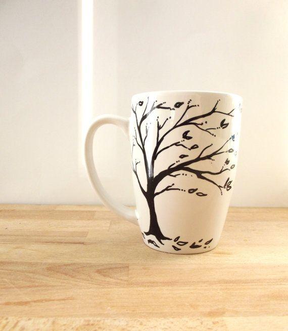 Inspirational Mug Single Hand Painted Mug The by ThePaintedMug, $16.95