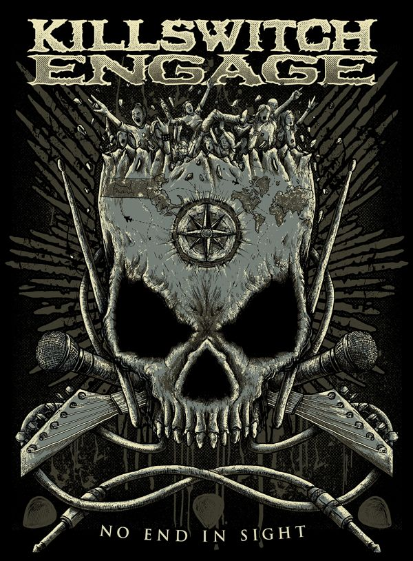 Killswitch Engage by TROCKZ ART, via Behance
