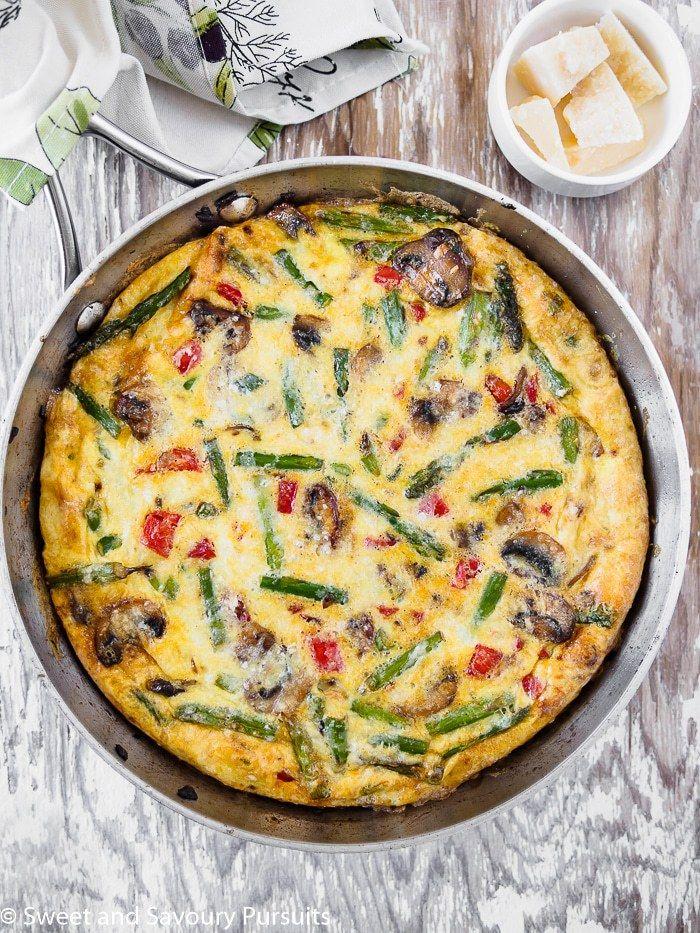Healthy Vegetable Frittata   Gluten-free   Grain-free   REAL FOOD