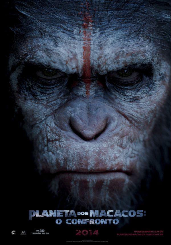 """Trailer legendado e cartaz nacional do filme """"Planeta dos Macacos: O Confronto"""" http://cinemabh.com/trailers/trailer-legendado-e-cartaz-nacional-do-filme-planeta-dos-macacos-o-confronto"""