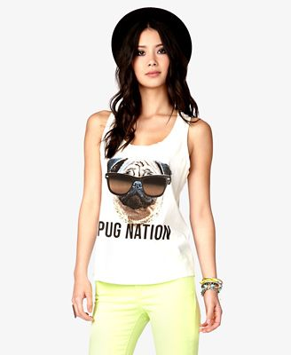 I really want this shirt haha {@CODY MiLES we can wear our pug shirts on Lashes' birthday, haha}