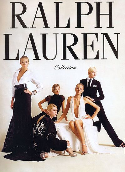If I could have my whole wardrobe consist of only one designer, it would all be Ralph Lauren. <3