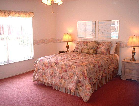 Orlando Villa master bedroom