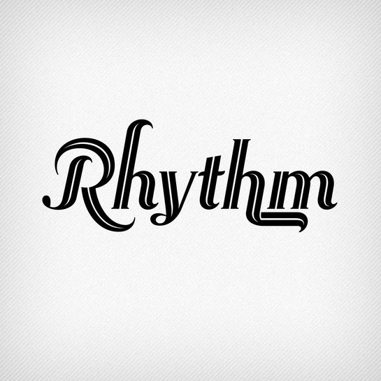 Rhythm by Neil Summerour. A typeface that is perfect for weddings.