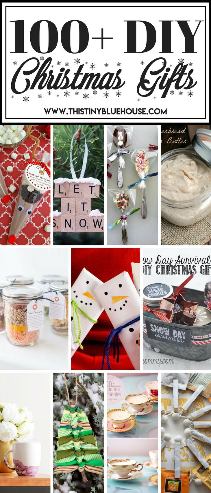 100+ DIY Budget Friendly Christmas Gifts | Christmas Ideas ...
