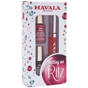MAVALA Putting on the Ritz Nail Polish and Be party ready with the Putting on the Ritz Set from Mavala. Housed in a gift box, the kit combines two of the brands favourite nail polishes and a luxurious lip gloss to leave you looking glamorous.  http://www.MightGet.com/march-2017-1/mavala-putting-on-the-ritz-nail-polish-and.asp