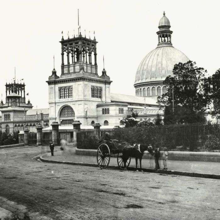 The cause of 1882's devastating Sydney Garden Palace fire has never been found…