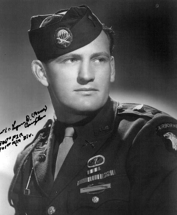 "Lynn D. ""Buck"" Compton - Easy Company / 2nd Battalion / 506th PIR / 101st Airborne Division. December 31, 1921 - February 25, 2012"