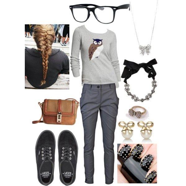 "cute nerd outfits for nerd day | Cute Nerd"" by kimduarte ..."