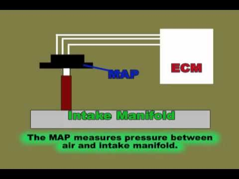 MAP Sensor & Wiring Diagram - YouTube
