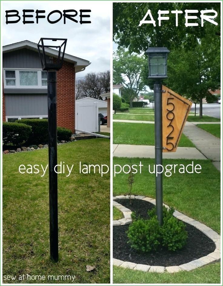 Rare Lighting Front Yard Post Lights Front Yard Light Post Ideas