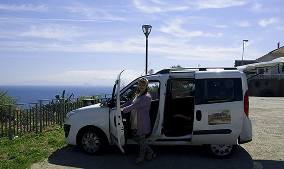 """YOU PAY THE TOUR, BUT NOT THE TRANSPORTATION BY CAR.WHETHER YOU ARE A FIRST- TIMER, OR AN EXPERIENCED VISITOR TO WINE COUNTRY, WE CAN PUT TOGETHER A MEMORABLE, UNIQUE AND FUN TOURING EXPERIENCE FOR GROUP OF UP TO SIX. RELAX IN A CONFORTABLE CAR WITH LARGE WINDOWS AND ENJOY.   AS YOUR """"DESIGNED DRIVER"""" MONICA WILL CONDUCT A CUSTOM TOUR BASED ON IN-DEPHT KNOLEDGE OD WINE ROAD APPELLATIONS IN TUSCAN COAST AS """"D.O.C. BOLGHERI, D.O.C. VAL DI CORNIA AND SUVERETO, MONTESCUDAIO""""."""
