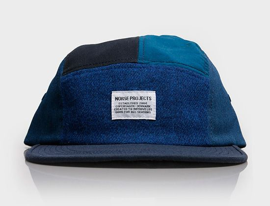 Patchwork 5 Panel Hat By NORSE PROJECTS