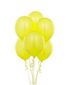 Sarı Latex Parti Balonu 10 Adet Online Parti Malzemeleri