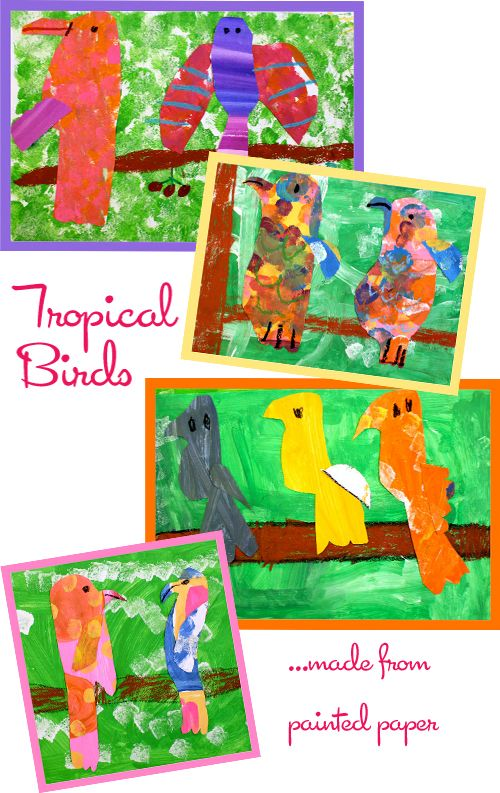 12 best rainforest art projects images on pinterest for Vacation bible school crafts for adults